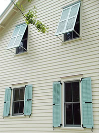Two Kinds of Exterior Shutters