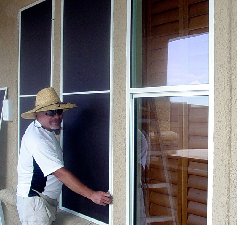 Preferred Exterior Solar Screen | Efficient Window Coverings QS96
