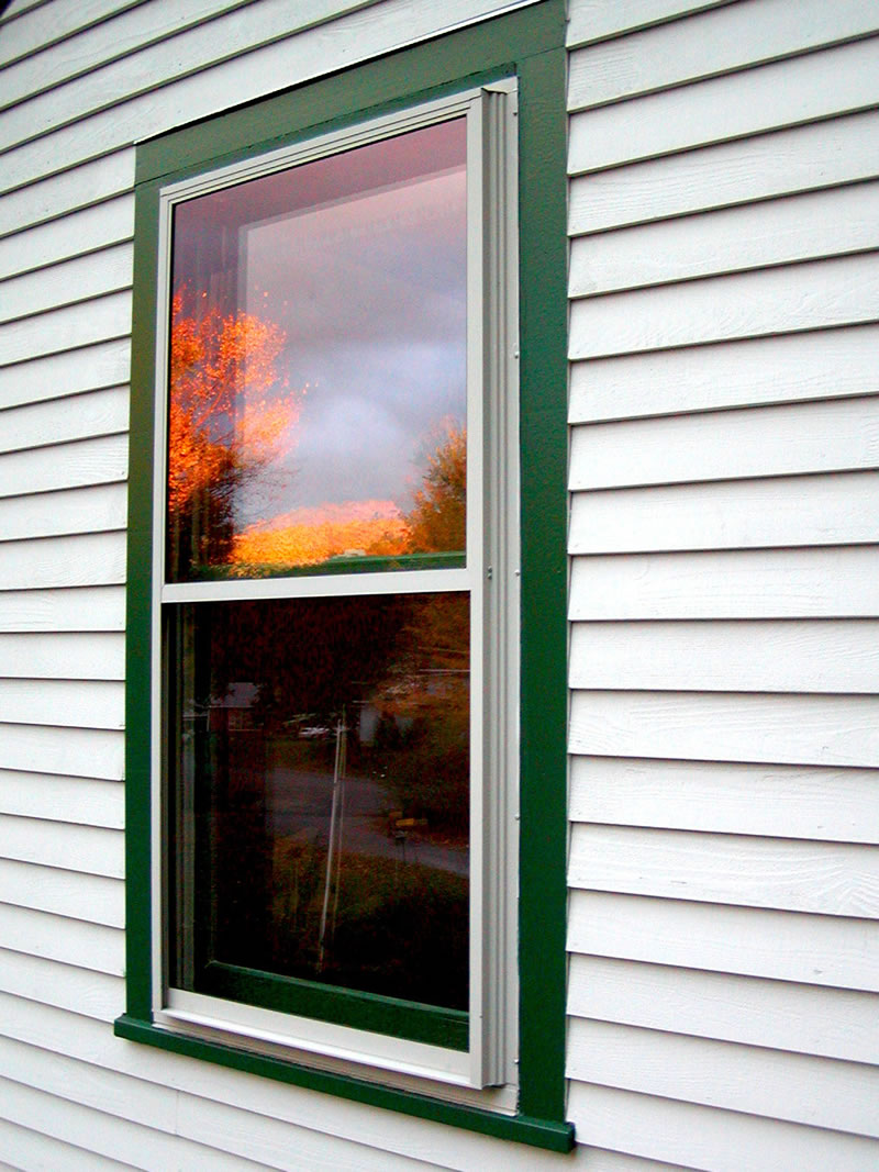 Storm window efficient window coverings for Storm windows